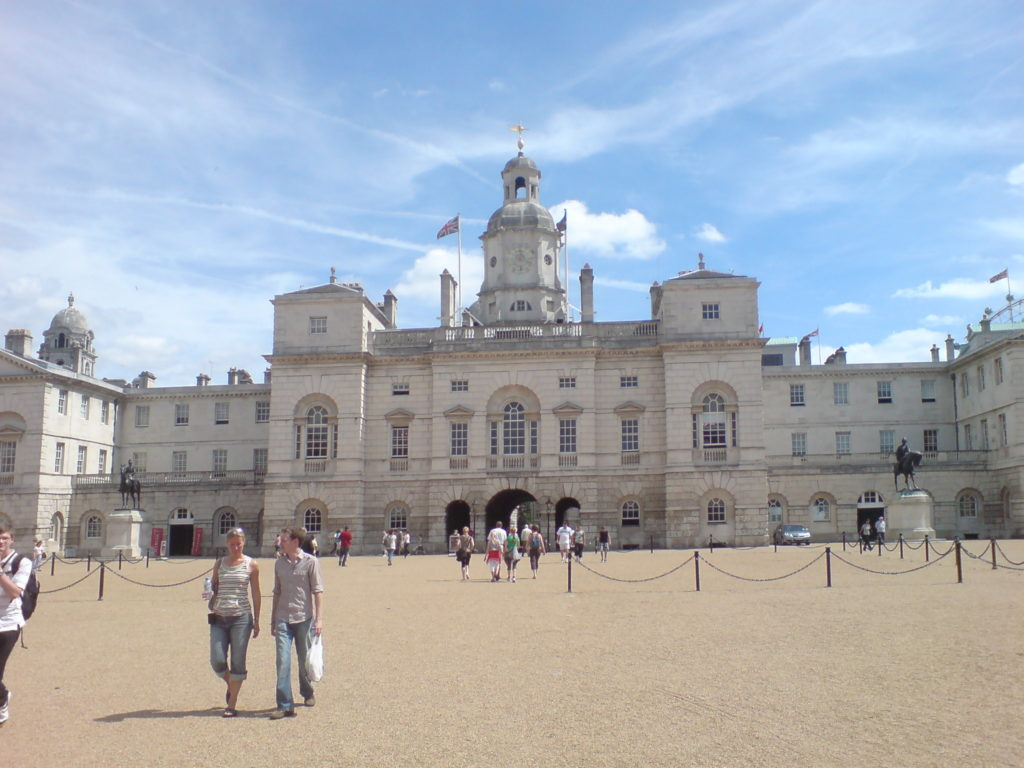 London Horse Guards Parade