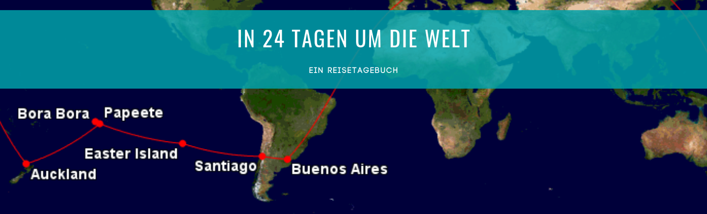 Round-the-World in 24 Tagen - ein Tagebuch | Fly Away With Me