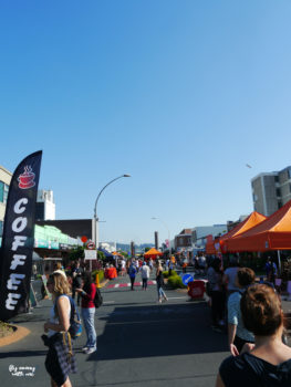 Neuseeland Zentrum Rotorua Thursday Night Market