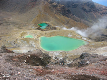 Neuseeland Zentrum Tongariro Crossing